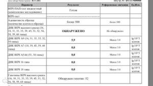 Расшифровка результатов анализов ПАП-теста и ВПЧ
