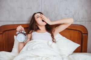 Потягивания во время сна