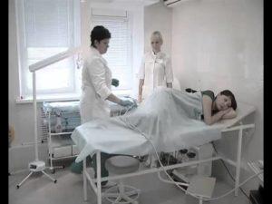 Клизма перед гинекологом