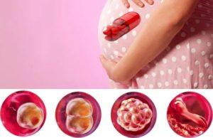 Медикаментозное прерывание замершей беременности