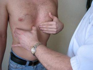 Шишка под правой грудью