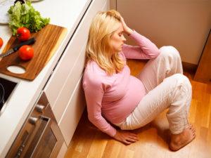 После родов бросает в жар