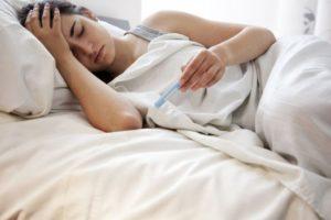 Повышенная температура тела после наркоза