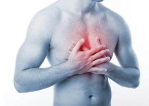 Боль в грудном отделе и тяжесть в желудке