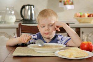 Ребёнок отказывается от каш