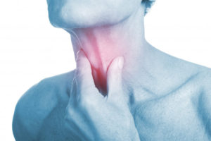 Дискомфорт на языке и ком в горле