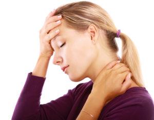 Кружится голова и болит шея
