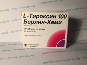 Когда назначают L-тироксин