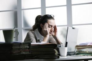Невнимательность, медлительность и проблемы на работе