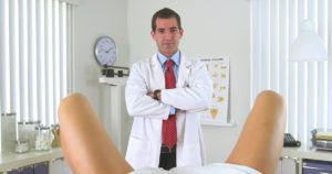 Перед приемом гинеколога был секс