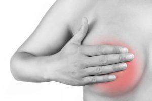 Болит грудь после пальпации