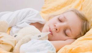 Температура у спящего