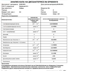 Какой анализ эффективней кал на Дисбактериоз или на УПФ