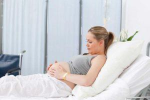 При беременности больно садиться