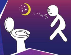 Просыпаюсь ночью в туалет