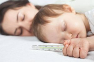Повторный подъем температуры у ребенка
