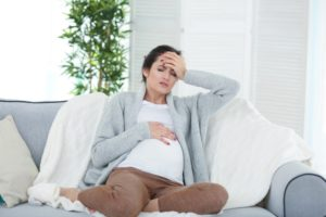 Боли в затылке во время беременности