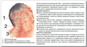 Головная боль в затылочной части справа