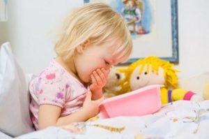 У ребенка тошнота после сна