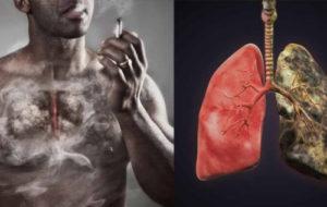 Боль в груди от курения