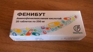 Фенибут при головных болях