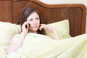 Отдышка при разговоре по телефону и лежа