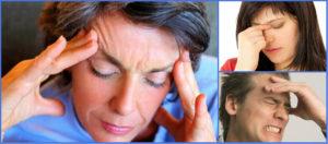 Боль в переносице при наклоне головы