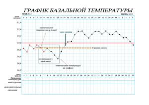 Овуляция при низкой базальной температуре