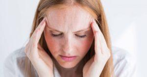Головокружение, распирающая боль головы, удушье, сердцебиение, нехватка воздуха