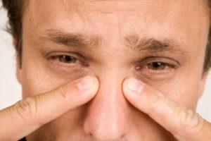 Болит кость под глазом