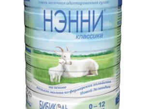 Кормление двумя смесями на основе коровьего и козьего молока