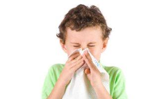 Температура, насморк и кашель у ребенка 1 год