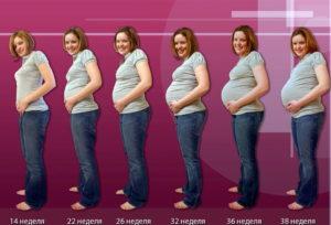 Мне кажется живот, как у беременной