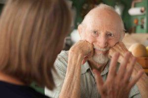 Старческая деменция.