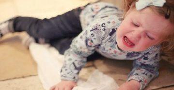 Истерика ребенка 9 месяцев. Помощь