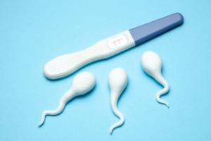 Беременность, секс и немного спермы, тест на беременность
