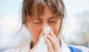 Ночью тяжело дышать из-за аллергии