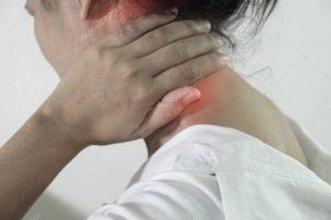 Ком в горле, напряженная шея