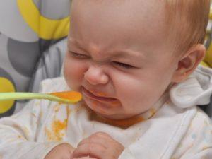 Ребенок стал отказываться от прикорма