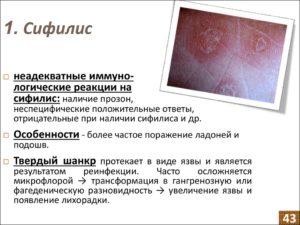Сифилис или нет как распознать