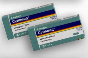 Температура при приеме антибиотика сумамед