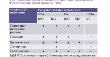 Какой анализ сдавать на Цитомегалавирус и вирус Эпштейна-Барра